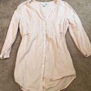 Size 4 small forever 21 striped blouse
